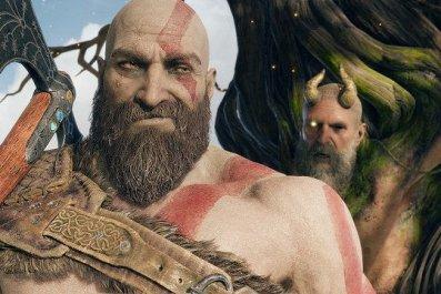 God of War ps4 photo mode kratos