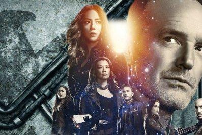 agents of shield season 5 finale thanos avengers infinity war theory talbot