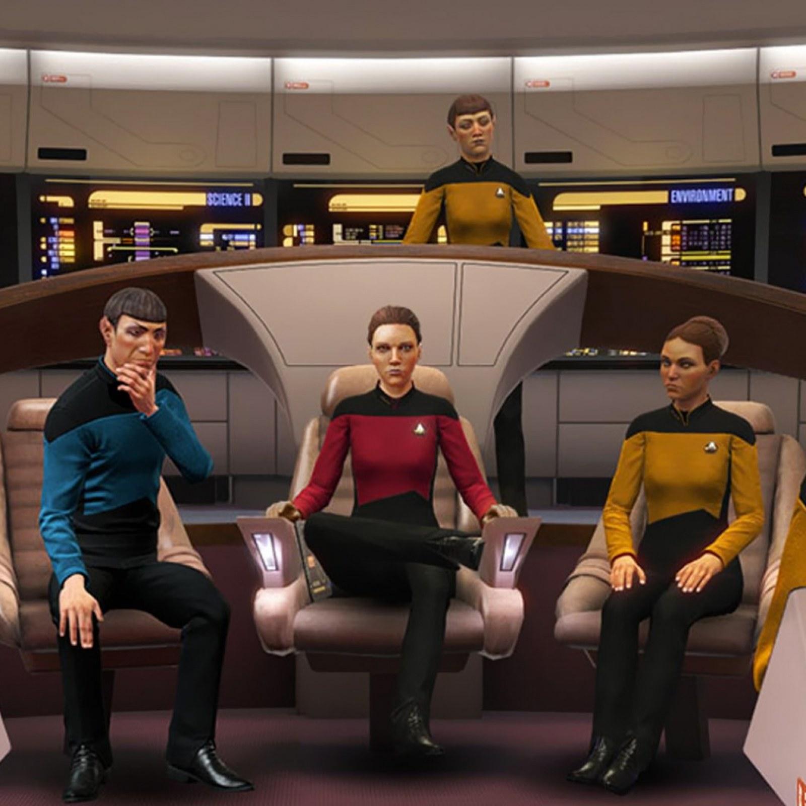 Star Trek Bridge Crew S Next Generation Dlc Adds Apocalypse
