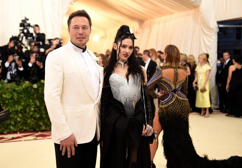 Elon Musk and Grimes