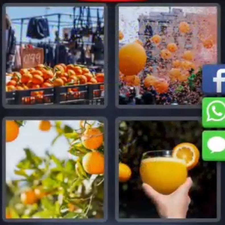 4, pics, 1, word, daily, challenge, may, 10, today, answer, 6, letters, solution, puzzle, cheat, tips, Spain, orange