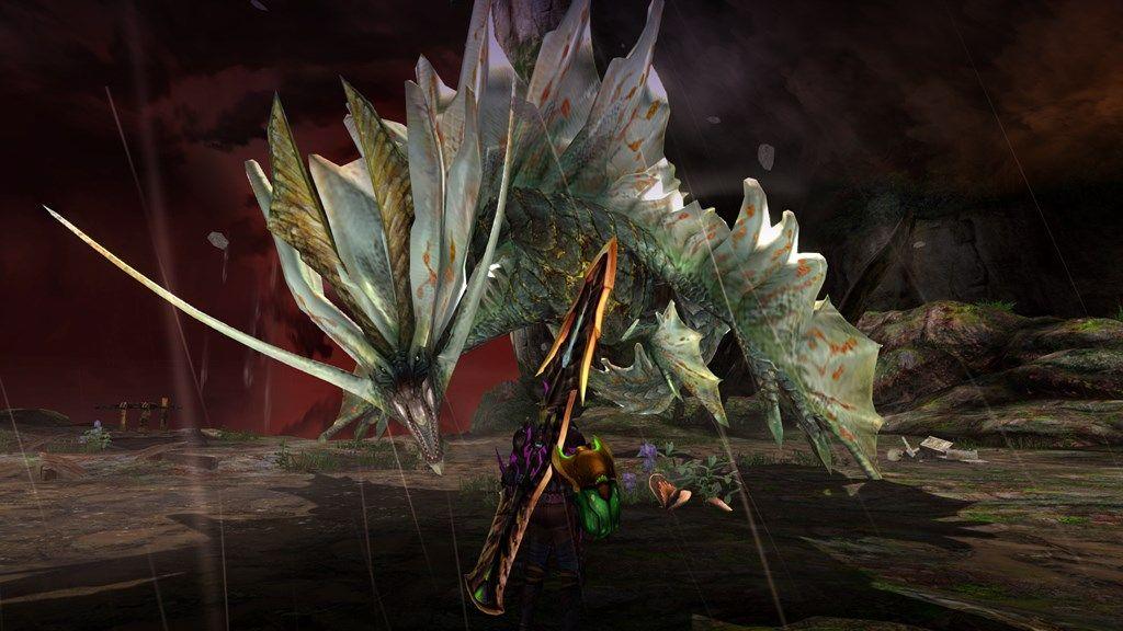 Monster Hunter Generations Ultimate _screens_Amatsu