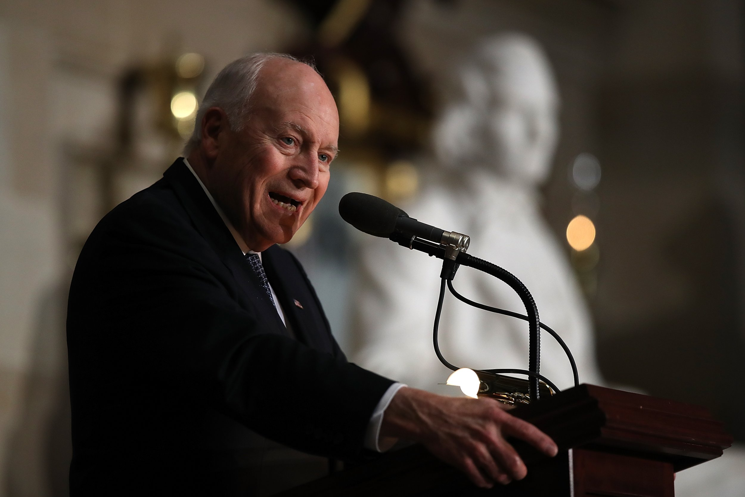 Dick Cheney says U.S. should restart torture program because he doesn't consider waterboarding torture