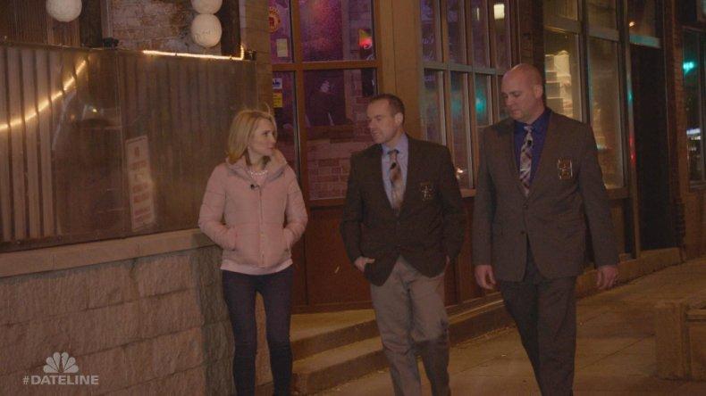 Andrea Canning, Sergeant Rick Loppnow, Sergeant Brian Slinger