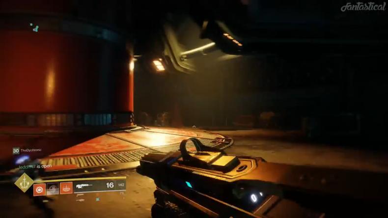 Destiny 2 Cylender room