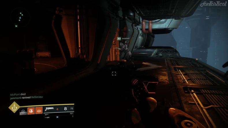 Destiny 2 lever room