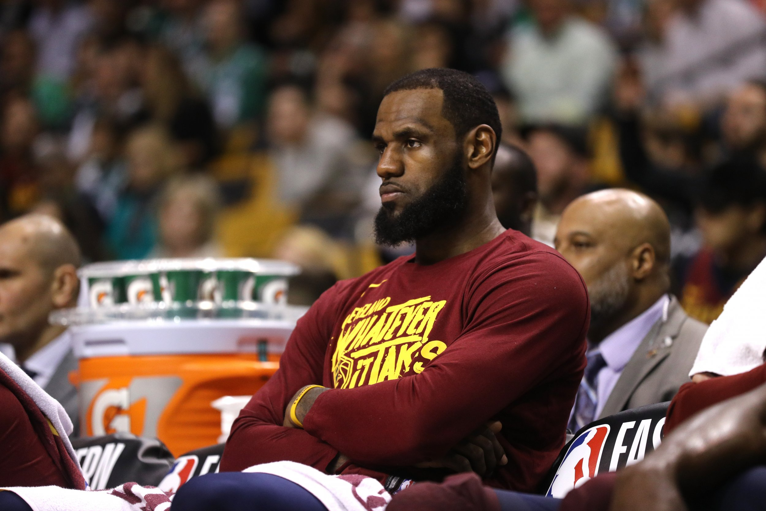 Marcus Morris Was Not Joking When He Said He Would Stop LeBron