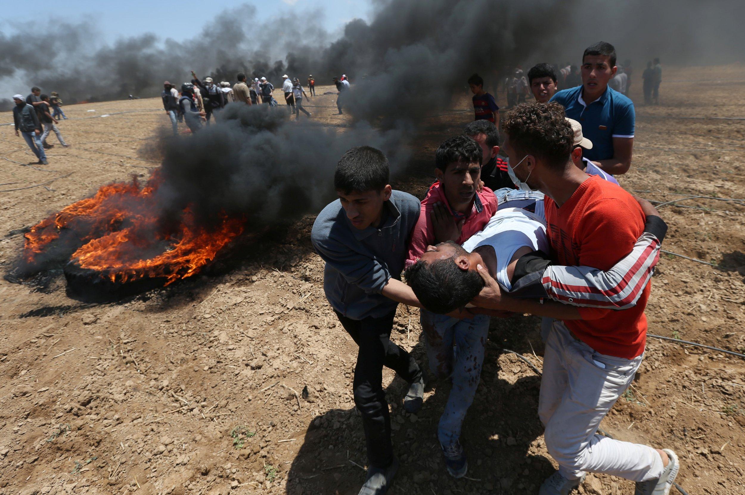 Gaza injury