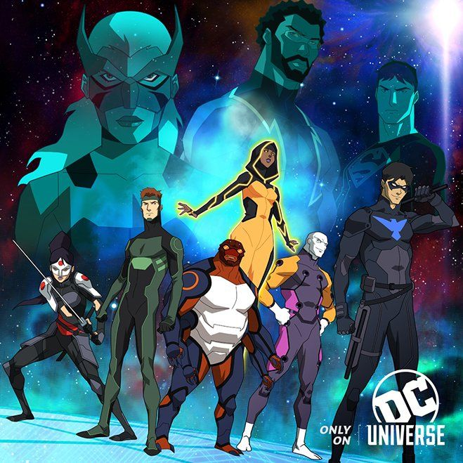 young justice outsiders new team