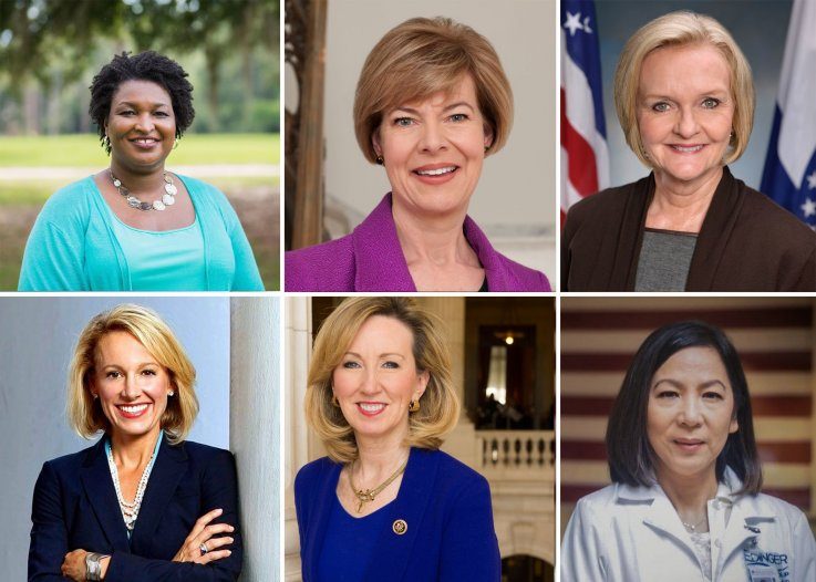 2018 Women Running in the Midterms