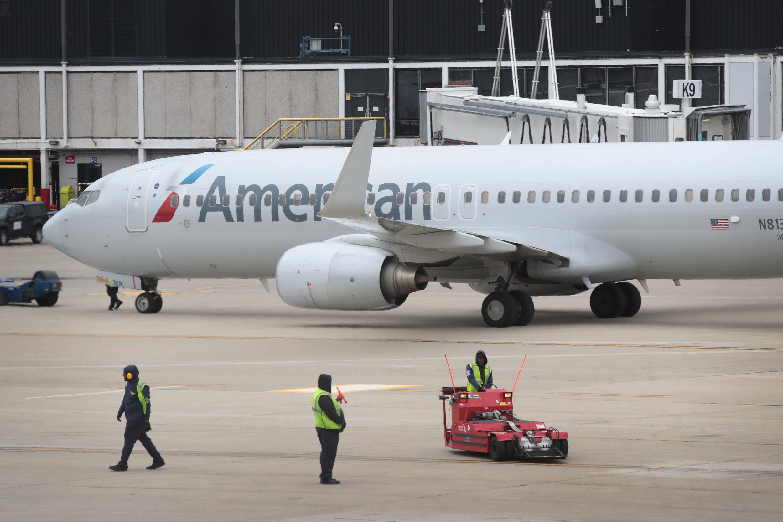 Flig American Airlines Jets Ready - Gonzagasports