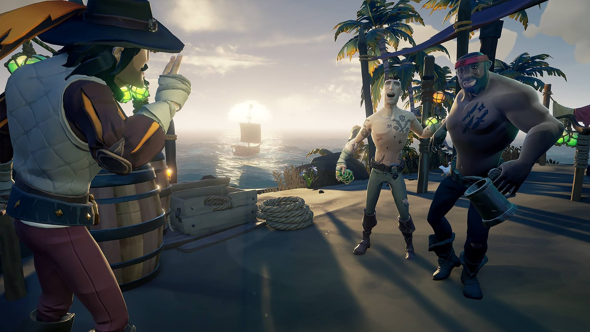 sea of thieves 107 update adds imperial sovereign items