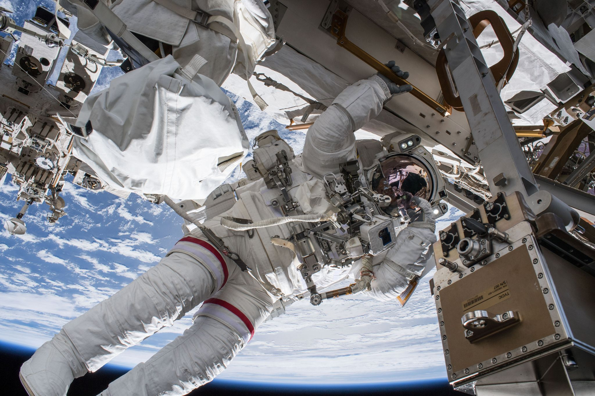 NASA Spacewalk Live Stream: Watch Astronauts Walk Outside ...