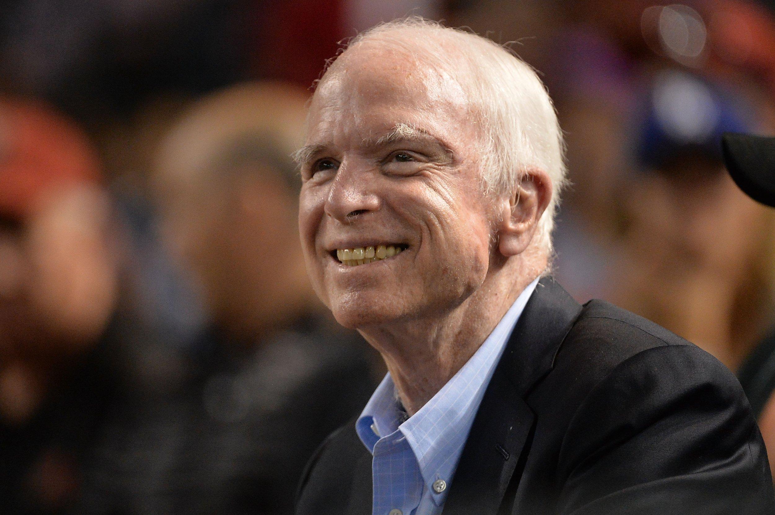 Young carol mccain McCain got