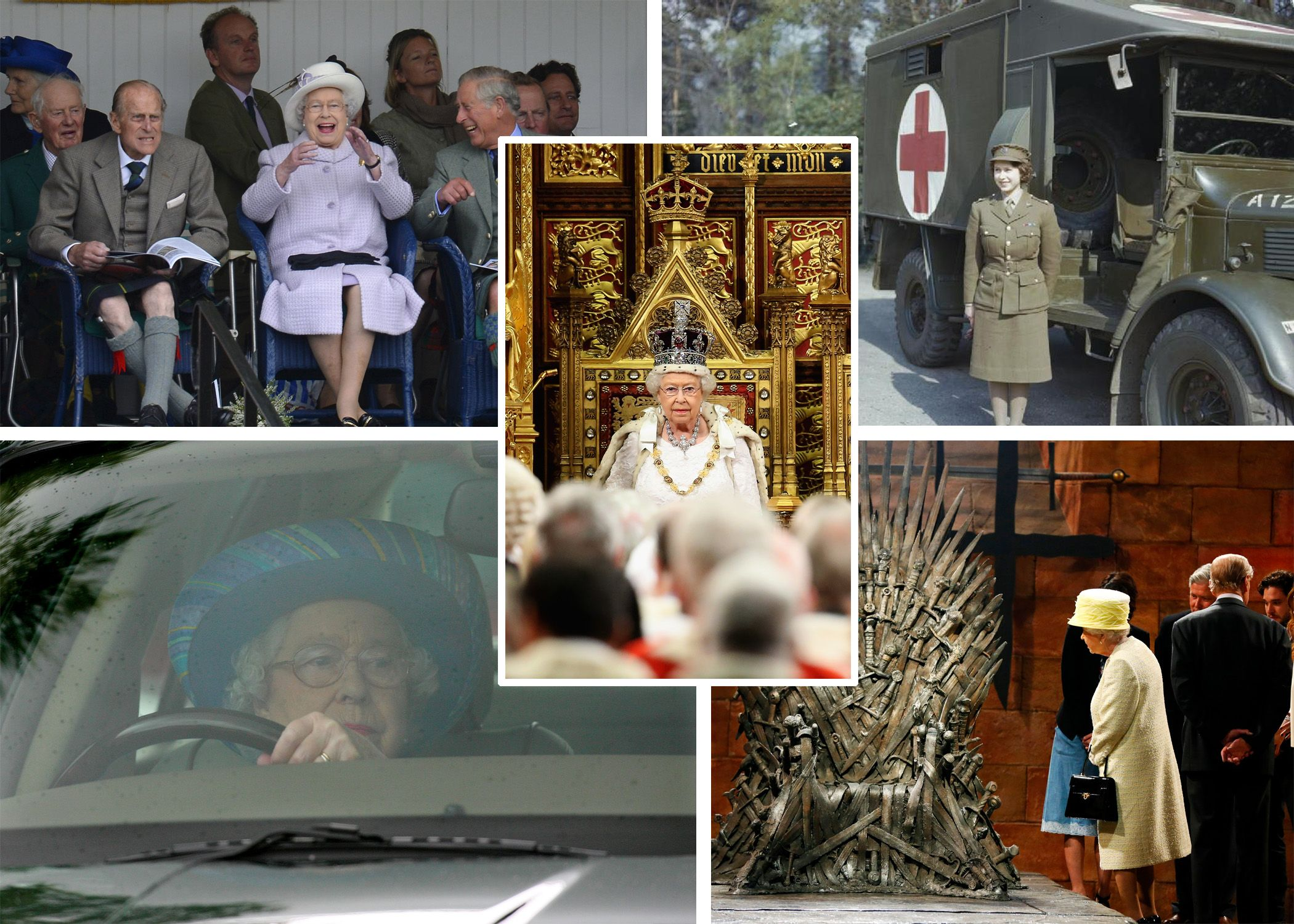 Queen Elizabeth II Slideshow Cover