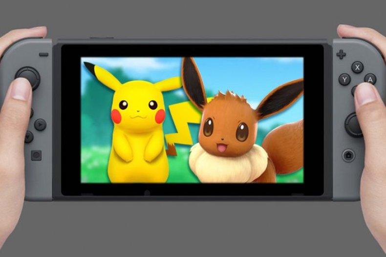 nintendo switch_pikachu_eevee_go pokemon