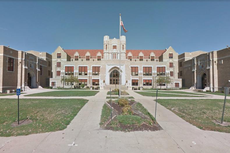 Dixon High School Exterior View