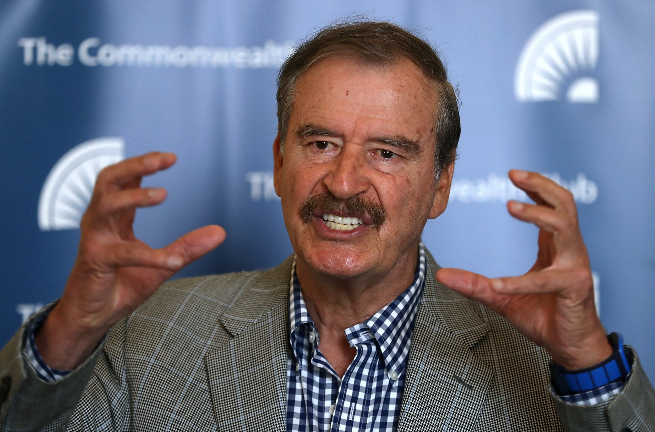 Former Mexico President Vicente Fox to Trump: 'You've Got to Get Your Sh*t Together' In Immigration Debate