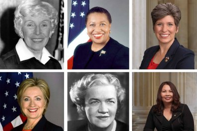 Every Female U.S. Senator Slideshow