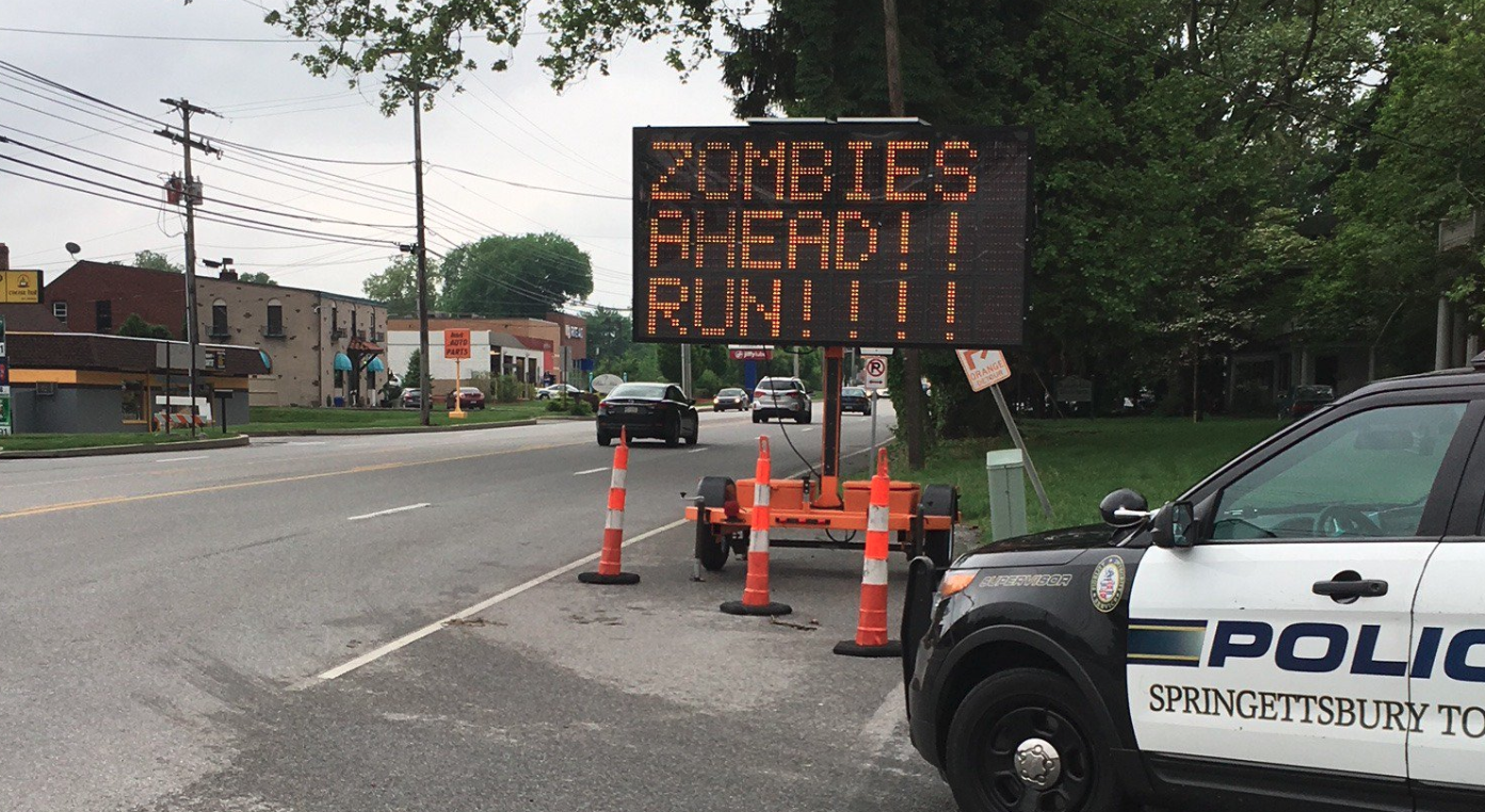 Hacked Zombie Warning
