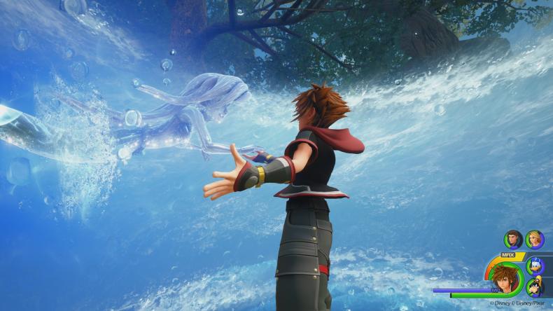 Kingdom Hearts 3 Ariel summon