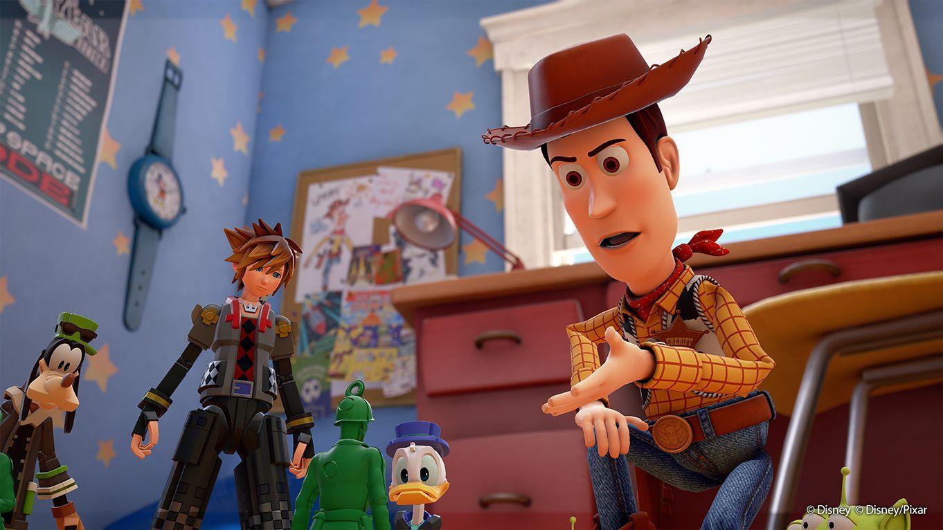 Kingdom Hearts 3 Toy Story ralph leak
