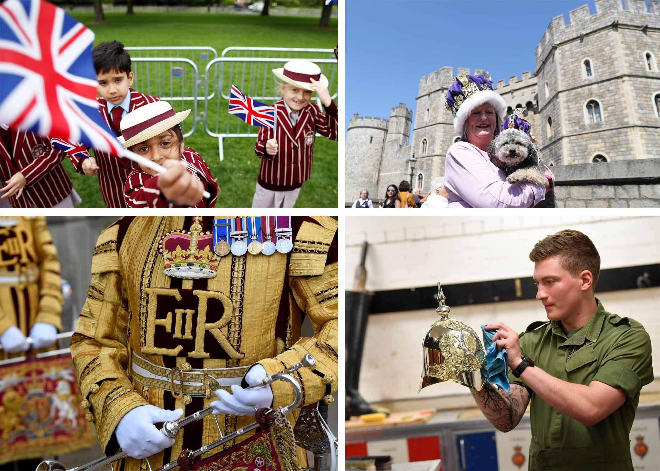 Meghan Markle's Wedding Day 2018 Photos: England Prepares for Prince Harry and Meghan Markle's Royal Wedding