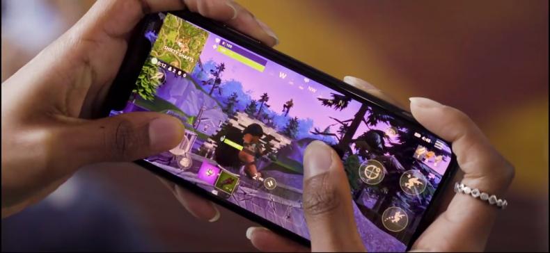Fortnite mobile off screen