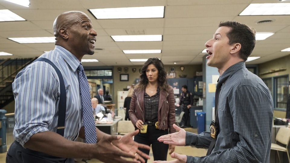 brooklyn99 andy samberg terry crews