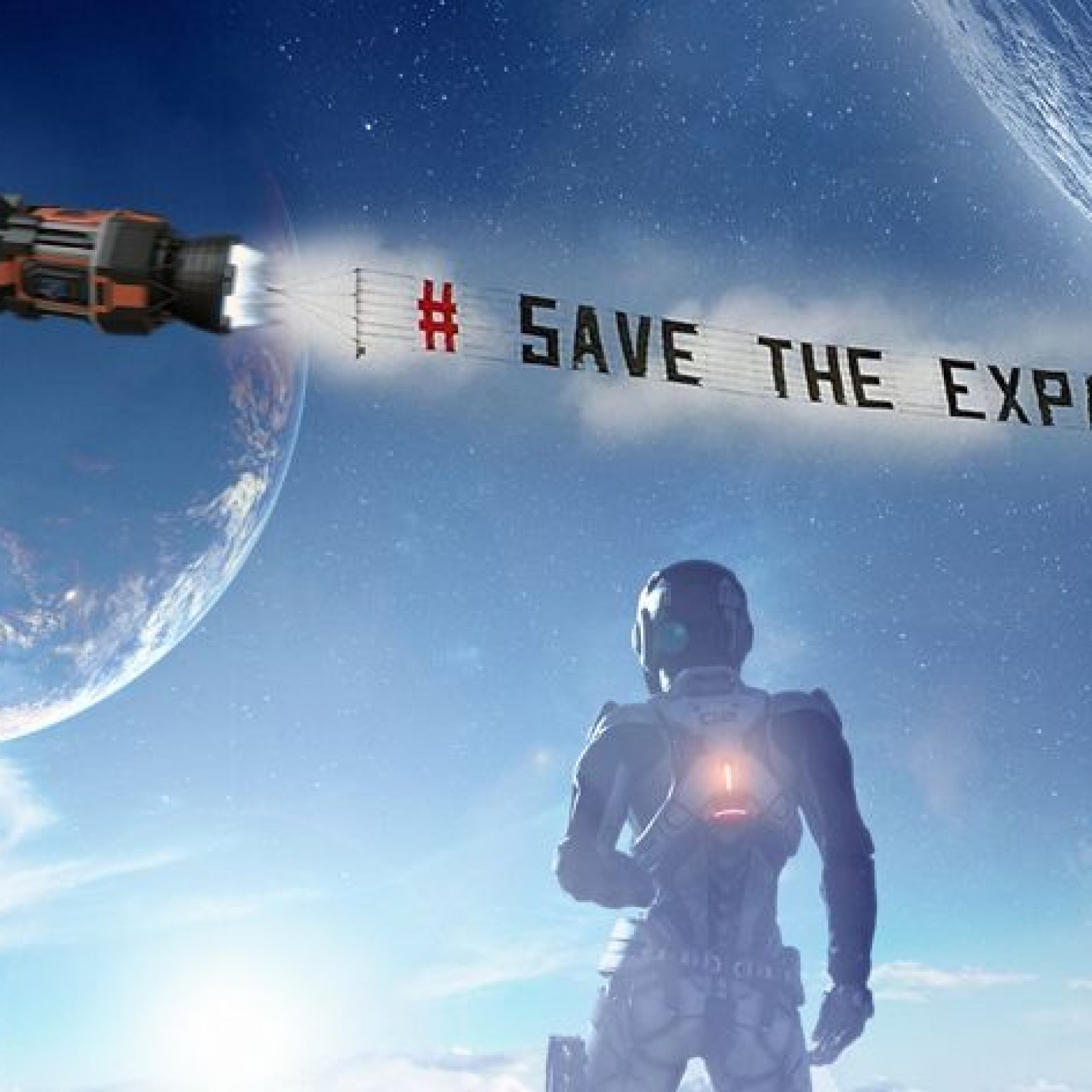 The Flight to Save 'The Expanse'