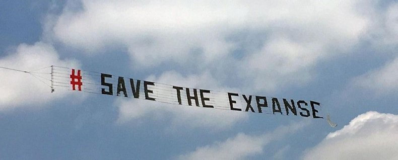 save the expanse syfy amazon