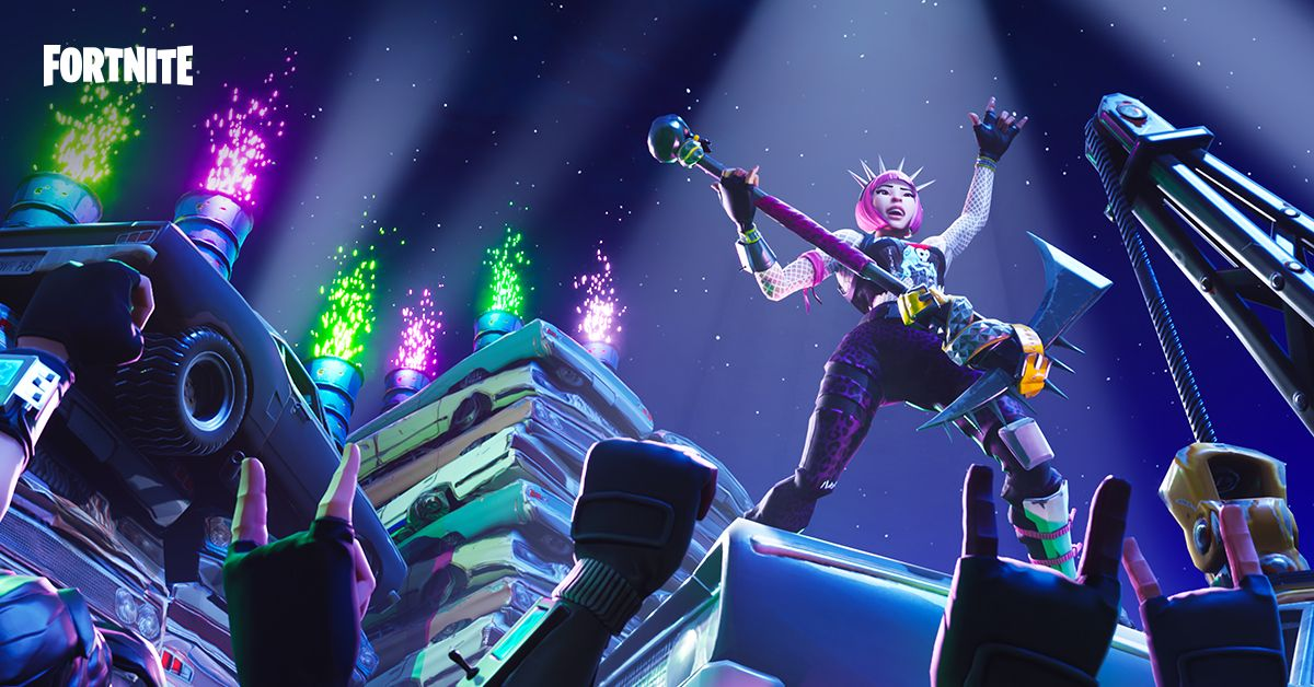 Fortnite esports offers 100 million prize pool can it for Chair in fortnite