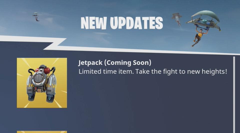 jetpacks fortnite