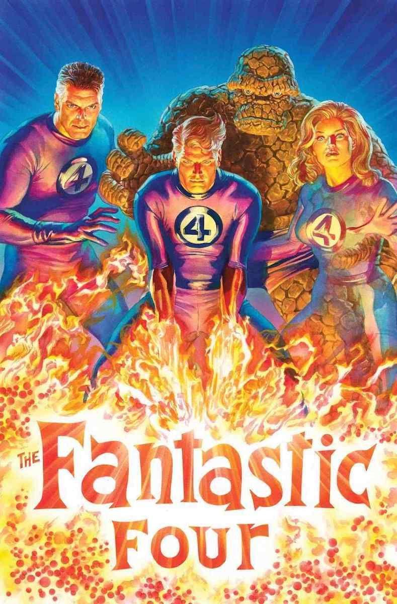fantastic four #1 comics marvel