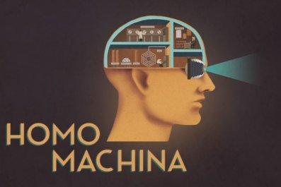 homo, machina, mobile, game, puzzle, new, adventure, fritz kahn, darjeeling, productions, arte, book, scientific, illustrations, man, as, machine