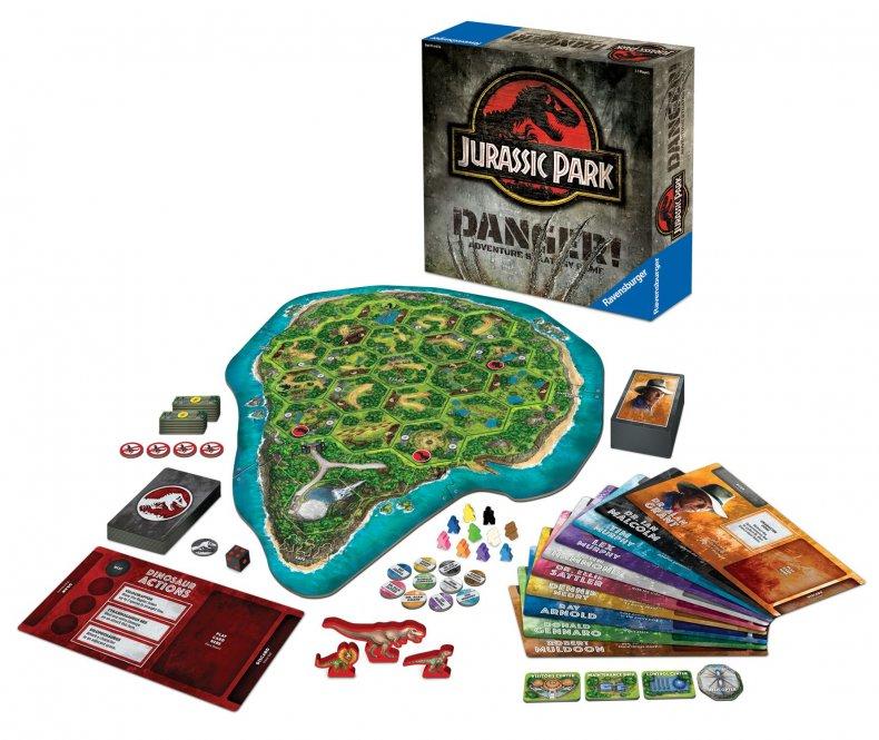 jurassic-park-danger-board-game-components