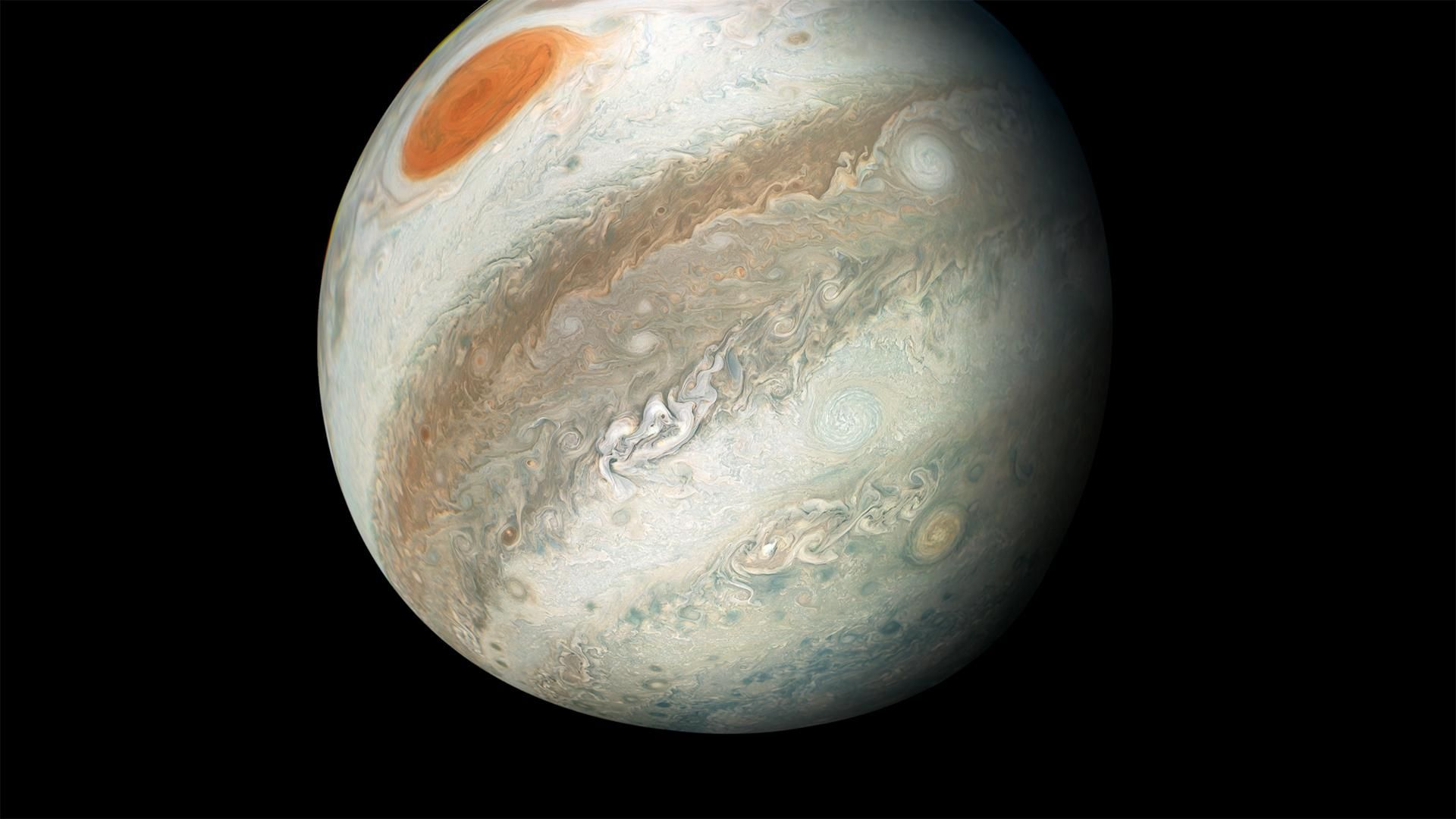 Real Pictures Of Jupiter The Planet NASA: New Juno Image S...