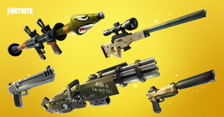 Fortnite Solid Gold V2 Guide Golden Guns Everywhere