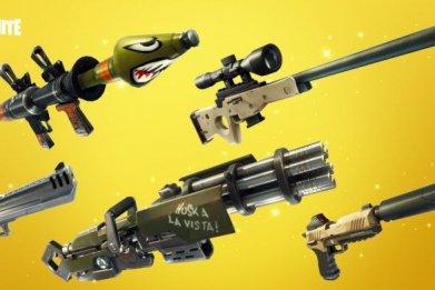 fortnite golden guns!