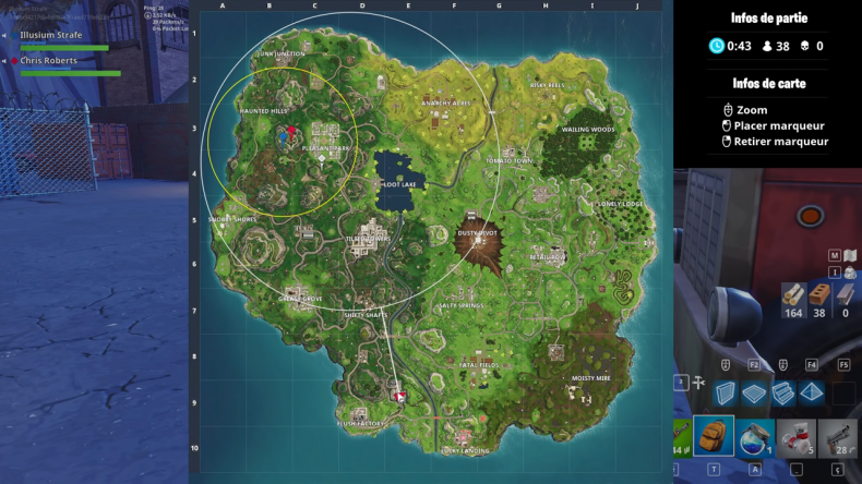 Fortnite eye of the storm map