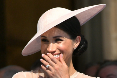 Meghan Markle Makes First Appearance With Prince Harry