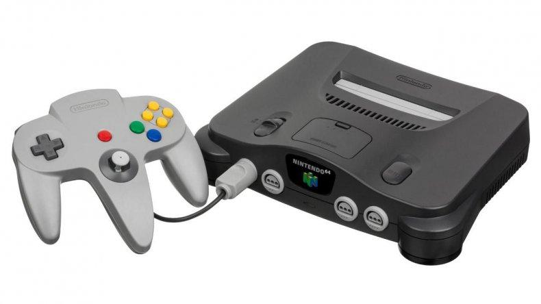 n64 nintendo 64 console controller