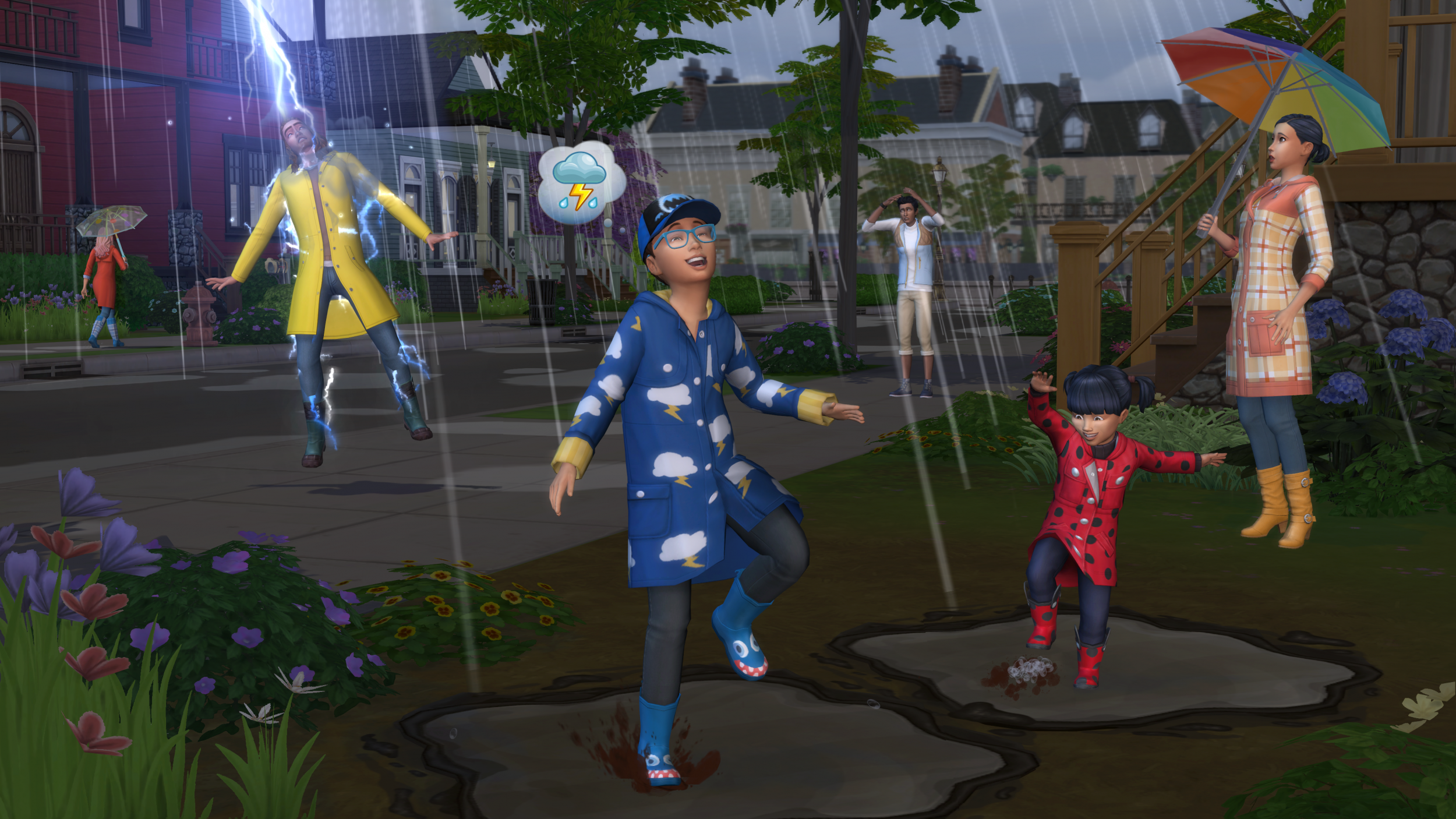 The Sims 4 Seasons new death