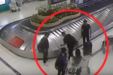 CCTV abduction