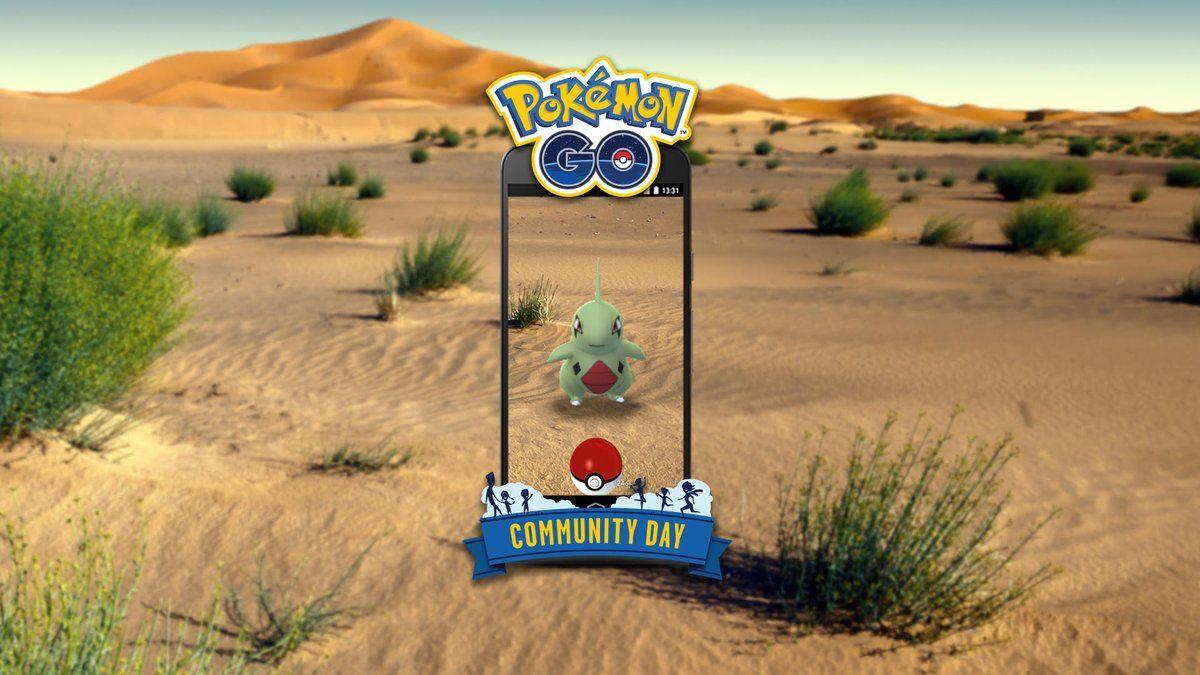 pokemon go larvitar community day