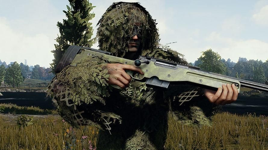 Pubg Mobile Awm Wallpaper: 'PUBG' Ghillie Crossing Event Mode Revealed