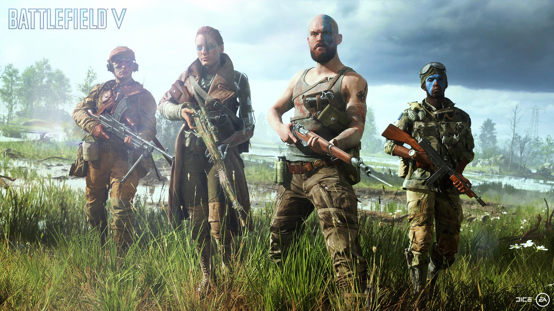 Battlefield v player customization