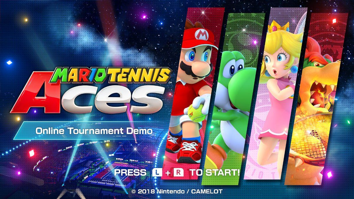 �mario tennis aces� characters stages and more found in