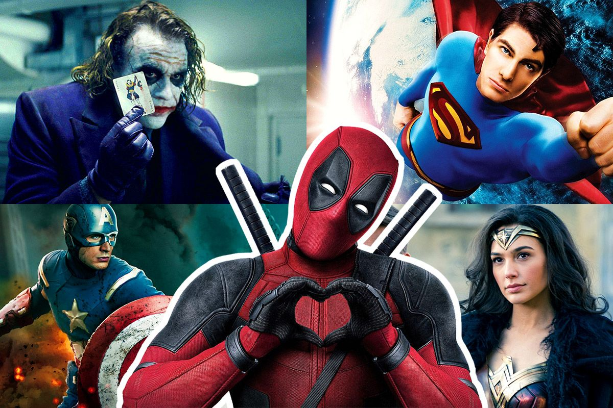 The 50 Biggest Superhero Movies of All Time at the U.S. Box Office