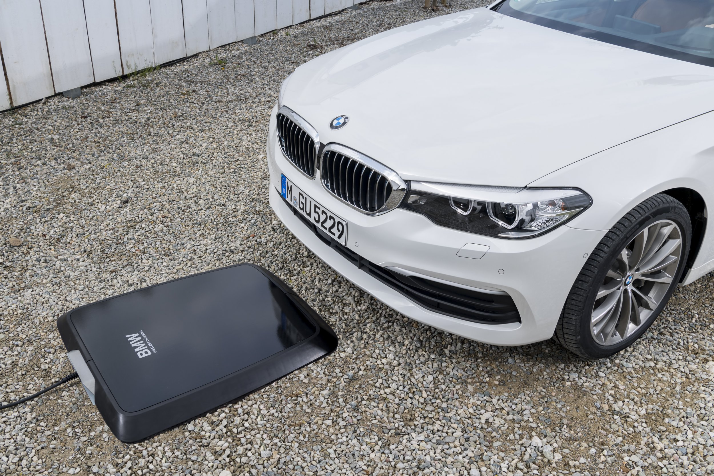 BMW wireless charger
